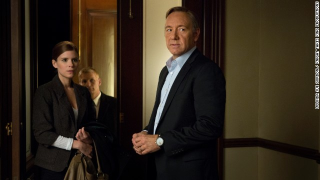 kate Mara, Chance Kelly and Kevin Spacey star in