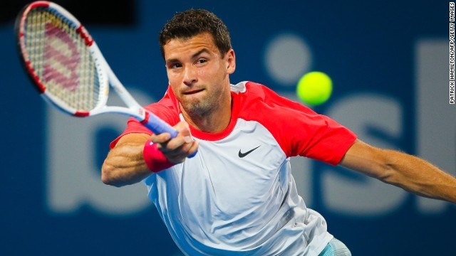 Sharapova's boyfriend Grigor Dimitrov, who was runner-up in Brisbane last season, also won his opening match against Dutchman Robin Haase.