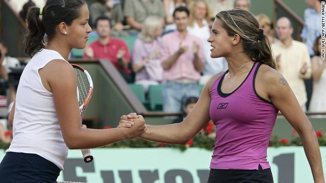 At the age of 17 she stormed to the quarterfinals of the 2005 French Open, knocking out third seed Amelie Mauresmo in the process.