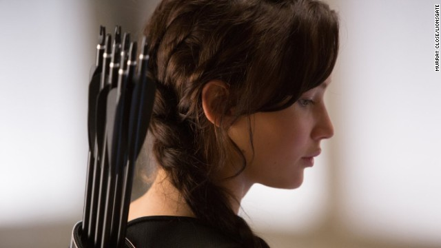 Jennifer Lawrence returns as Katniss Everdeen in