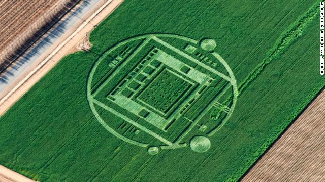 No, los extraterrestres no hicieron la extraña figura en una granja de California