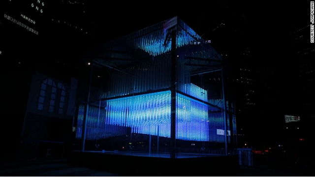 "Hyundai has been marketing the concept of art plus technology, which is what led the Korean conglomerate to commission ""Brilliant Cube."""