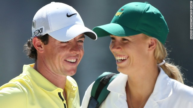 Rory McIlroy and Caroline Wozniacki announced their engagement on New Year's Eve.