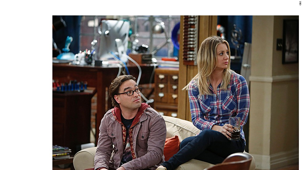 "Johnny Galecki y la recién casada Kaley Cuoco interpretan a Leonard y Penny en ""The Big Bang Theory."" Estos son algunos personajes de la serie:"