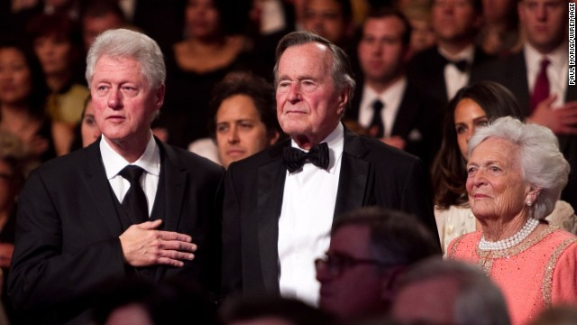 Bill Clinton wishes full recovery to his other 'mother,' Barbara Bush