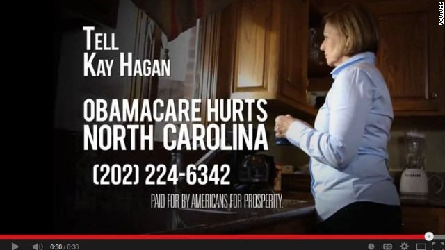 Conservative group spends $2.5 million in new ad campaign