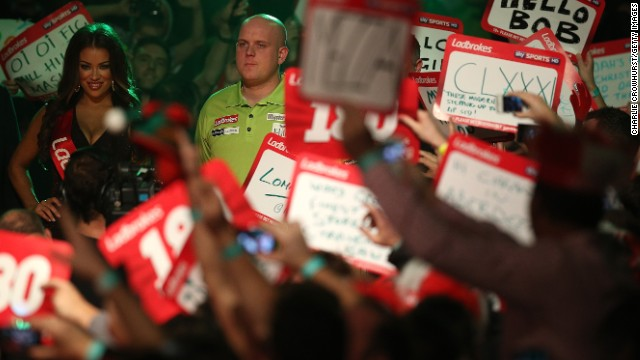 Darts players such as world champion Michael van Gerwen are celebrities in their own right with the sport's global appeal growing. The tournament was broadcast from London to Australia, New Zealand, Europe and across the Middle East.