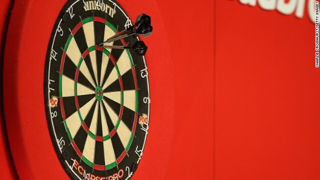 Each player starts with a score of 501 and the first to reach zero wins. After a player throws three darts, th