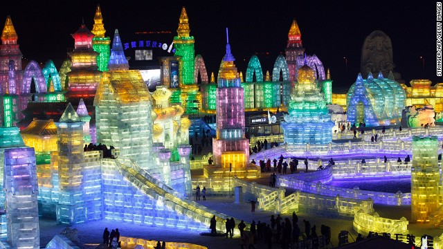 Hot in Harbin: World's most spectacular winter festival opens