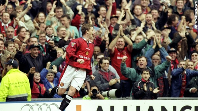 Solskjaer made his name as a player at Manchester United, where he spent 11 years between 1996 and 2007, winning six English Premier League titles, two FA Cups and the Champions League.