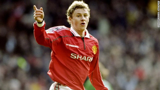 Solskjaer was often brought off the bench for Manchester United to have an impact on games late on -- a role that he turned into his own. The striker once scored four goals against Nottingham Forest in the space of just over 10 minutes after coming on as a substitute.