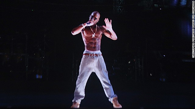 "Musion shot into the public eye when the company ""resurrected"" rapper <strong>Tupac Shakur</strong>, creating a life-size hologram to duet with headliner Snoop Dogg at the 2012 Coachella music festival."