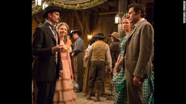 First photo of Seth MacFarlane's Western