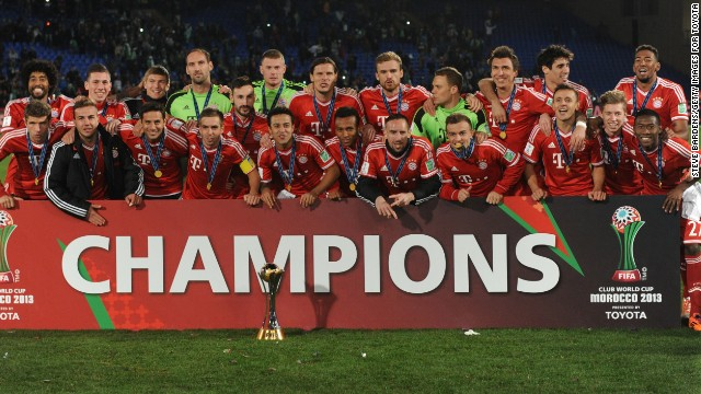 No-one could hold a candle to Bayern Munich in terms of silverware in 2013, the German champions winning an incredible five titles, including the European Champions League. They have usurped Manchester United in third spot and recorded a 17% growth in revenue to hit $585m.
