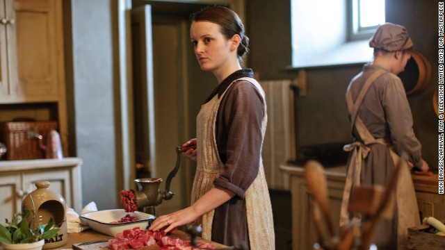 With Daisy (Sophie McShera) gaining more responsibility in the kitchen, she will have to keep her personal feelings for footman Alfred at bay.