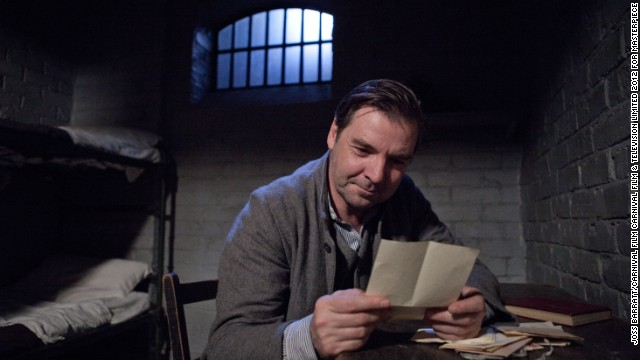 With Mr. Bates (Brendan Coyle) out of prison, Lord Grantham's valet can begin his life in wedded bliss to Anna.