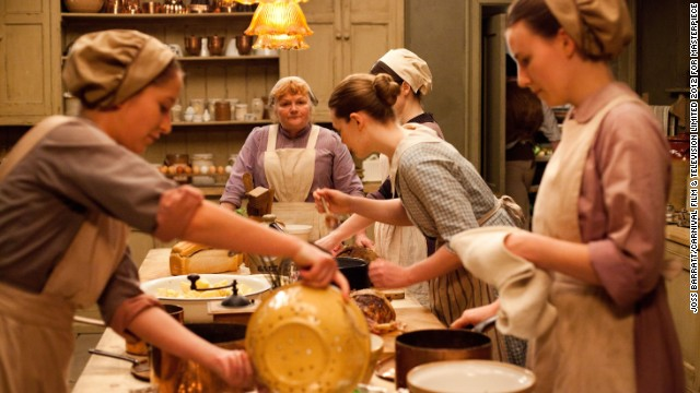 Mrs. Patmore (Lesley Nicol) has more on her hands in the kitchen, continuing to deal with the drama of her young mentees Daisy and Ivy. Will the head cook get some well-deserved time for herself?