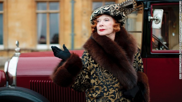 Shirley MacLaine returns as Cora's mother, Martha Levinson, to bring some much needed Yank zest to Downton.