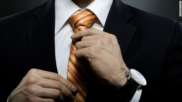Step up your tie game for a job interview with a pattern that stands out.