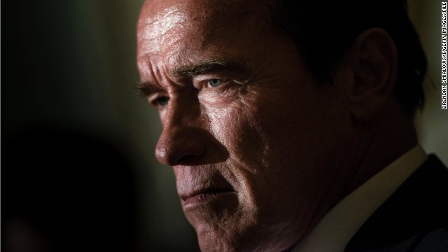 Action film star Arnold Schwarzenegger was elected governor of California in 2003. He finished his second term as governor in 2011.