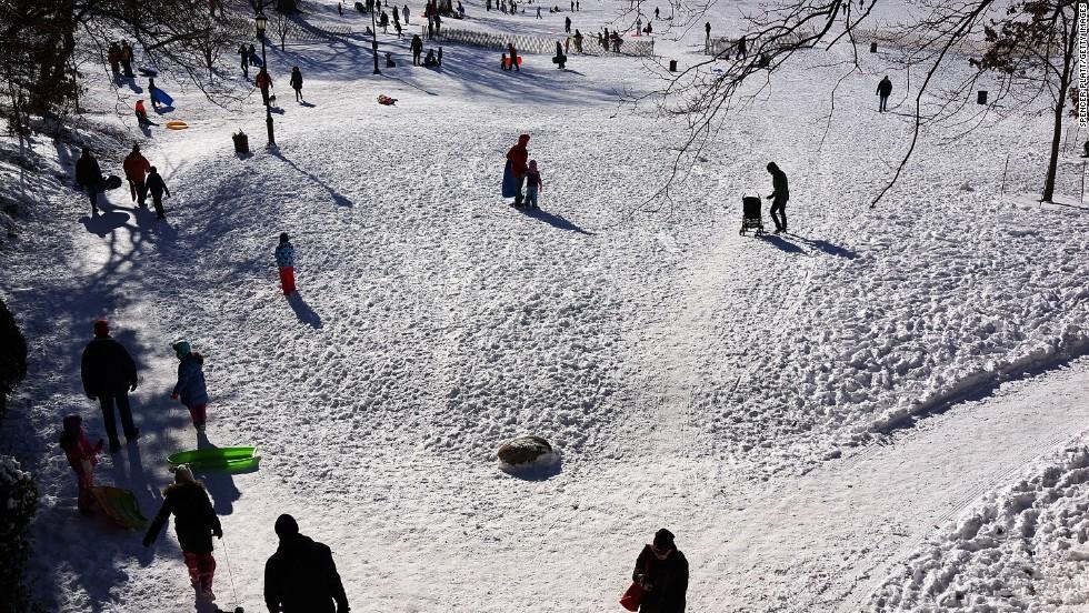 Invierno en Norteamérica