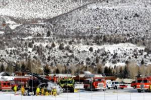 Un avión se estrella al aterrizar en Aspen