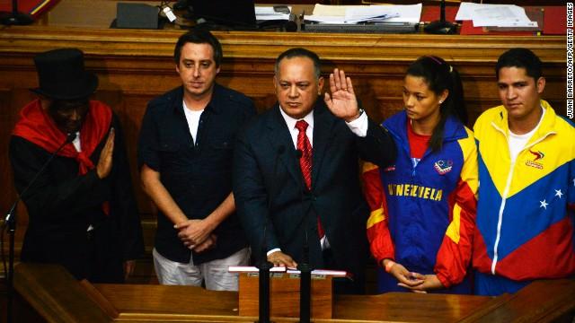 Diosdado Cabello es reelegido presidente de la Asamblea Nacional de Venezuela