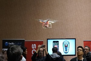 'Drone' fotógrafo de altura