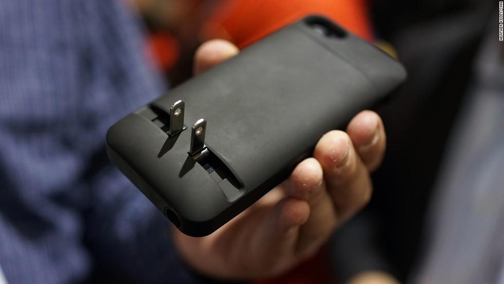 Un conector de energía para smartphones