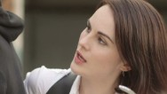 "Michelle Dockery of ""Downton Abbey"" has trouble adapting to her newest TV role. Watch more at http://www.funnyordie.com."