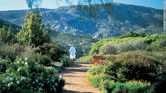 Rancho La Puerta, a 3,000-acre private resort full of gardens, mountains and meadows, teaches sustainable nutritional eating and muscle building, largely based on plants and whole foods, banning all processed food. Calories are reduced moderately, not radically in order to lose fat and not muscle.