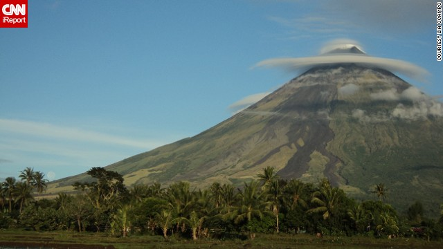Mount Mayon is the Philippines' most active volcano. The peak is known for its symmetrical shape. See more photos on CNN iReport.