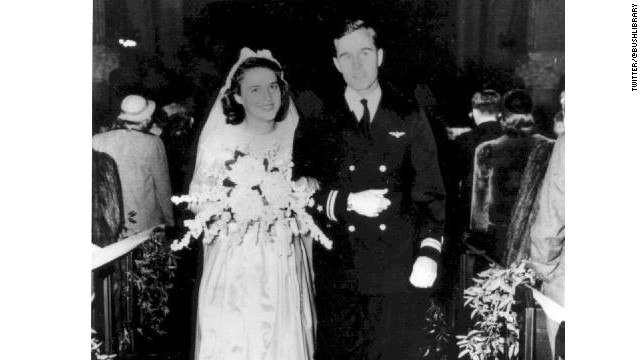 George and Barbara Bush celebrate 69 years of marriage