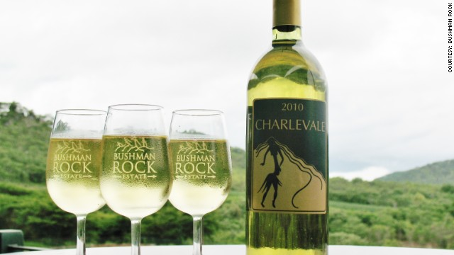 Zimbabwe's Charlevale: With a cut-grass character and light oak flavor, this refreshing wine is aged for up to five years.