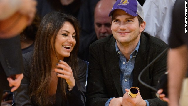 Couples caught on camera: Mila and Ashton, Justin and Selena