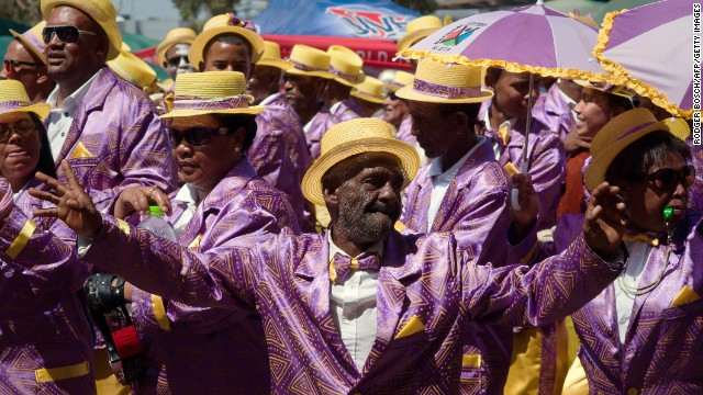"""(It) may be compared to Mardi Gras in New Orleans and Rio de Janeiro, or the Notting Hill Carnival in London,"" says South African author MIchael Hutchinson."