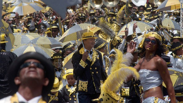 "Thousands of revelers took to the streets of Cape Town Saturday to celebrate ""Tweede Nuwe Jaar"" (Second New Year)."