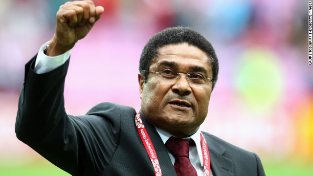 Eusebio, the former Portugal and Benfica striker, passed away on Sunday January 5 after suffering a heart attack. He is regarded as one of the greatest football players of all time.