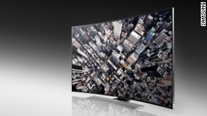 TV trends at CES: 4K and curves