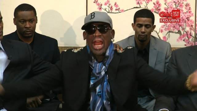 Dennis Rodman's Insane CNN Outburst, Defense Of North Korea (VIDEO)