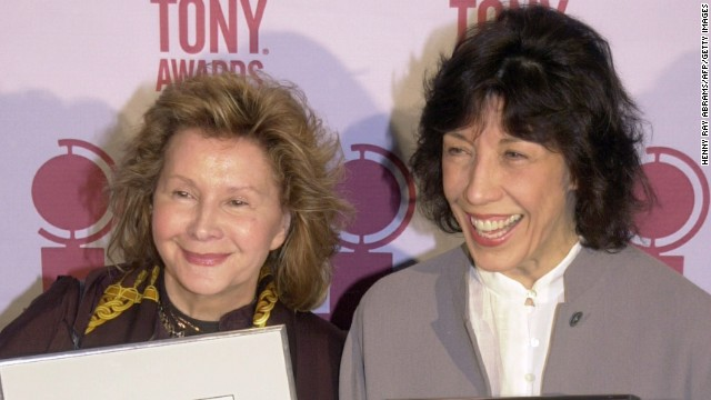 Columnist Liz Smith <a href='http://ift.tt/1a48Bo8' target='_blank'>broke the news</a> that actress Lily Tomlin, right, rang in 2014 by marrying Jane Wagner, her partner of 42 years, on New Year's Eve.