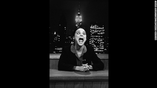 "Before ""Seinfeld"" made her a superstar, Julia Louis-Dreyfus was cast on ""Saturday Night Live"" from 1982 to 1985."