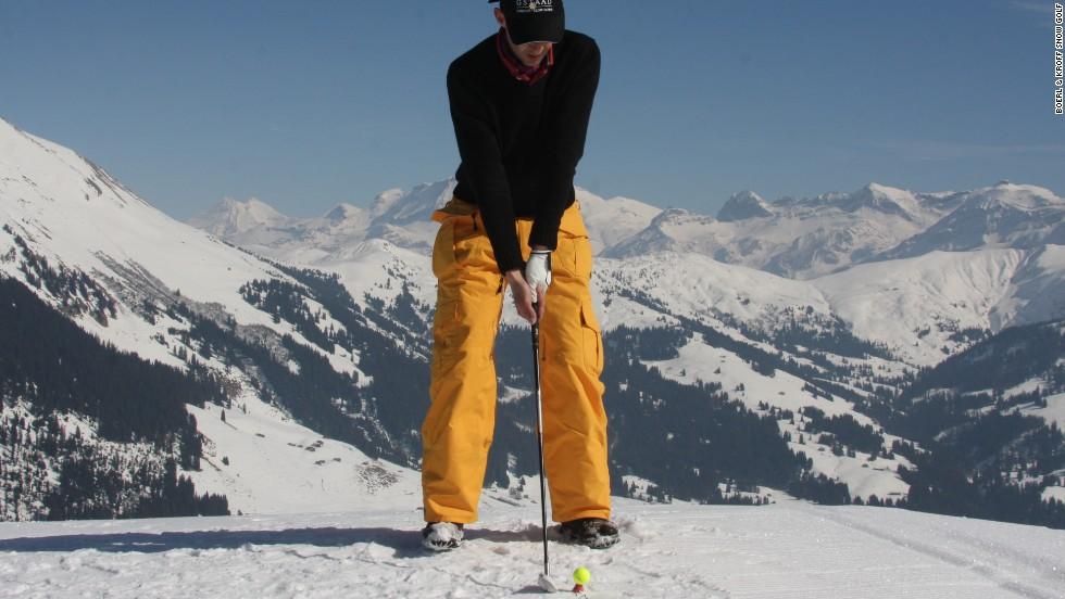 Golf en la montaña