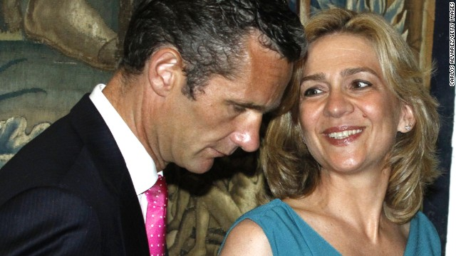 Princess Cristina and her husband, Inaki Urdangarin, in Palma de Mallorca, Spain, in 2011.