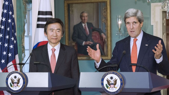 Kerry: US will not accept North Korea as a nuclear state