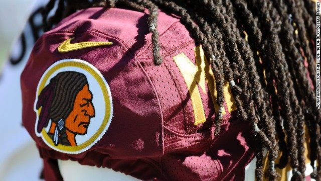 "The Washington Redskins team name and logo got heightened visibility when President Barack Obama and high-profile sportscasters Bob Costas and Christine Brennan spoke out against it in 2013. Team owner Dan Snyder insists the team's name is part of a tradition and is ""not an issue."""