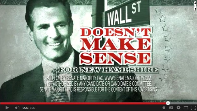 Group goes after Scott Brown with new ad