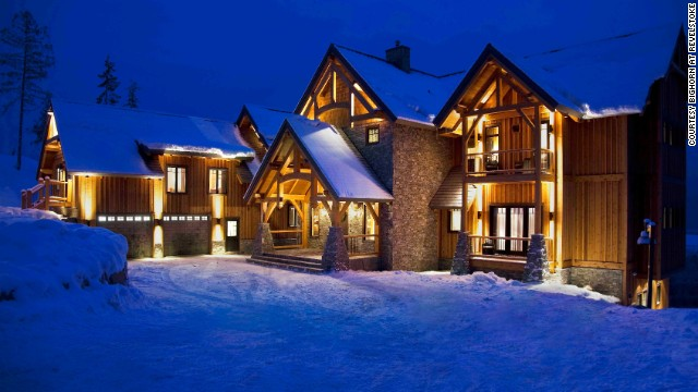 Heli-skiing is the name of the game at Bighorn at Revelstoke, where you can live in the lap of luxury for a week at this private eight-suite chalet in British Columbia.