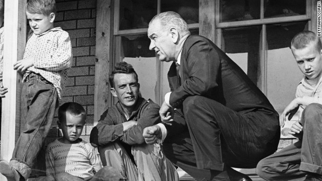 President Johnson and War on Poverty