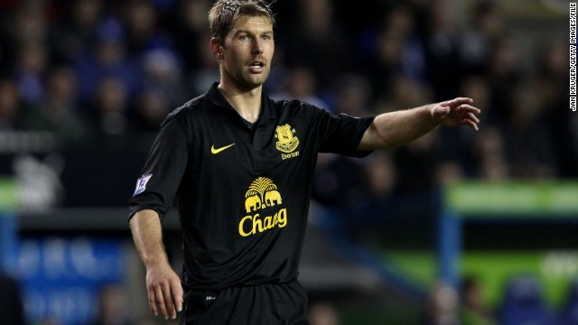 Hitzlsperger retired from football at the end of the 2012-13 English Premier League season, during which he played under current Manchester United manager David Moyes at Everton.